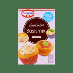 products dr. oetker cupcakes basismix naturel
