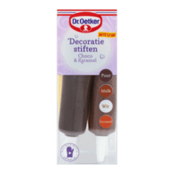 products dr. oetker decoratiestiften choco karamel