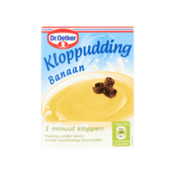 products dr. oetker kloppudding banaan