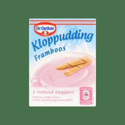 products dr. oetker kloppudding framboos