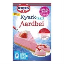 products dr. oetker kwarktaart aardbeien met bodem