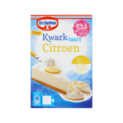 products dr. oetker kwarktaart citroen