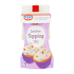 products dr. oetker zachte topping wit