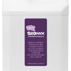 products label barcode bionyx 5l jerrycan sanitary cleaner for scaled