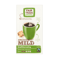 products fair trade original koffie mild biologisch snelfiltermaling