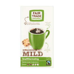 products fair trade original koffie mild biologisch snelfiltermaling