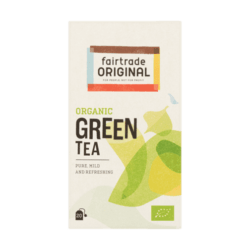 products fair trade original organic green tea
