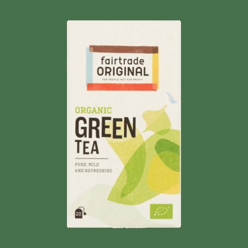 products fair trade original organic green tea