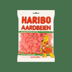 products haribo schuim aardbeien