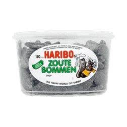 products haribo zoute bommen drop