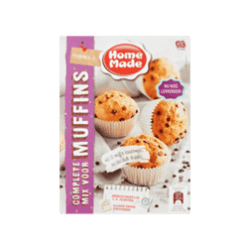 products homemade complete mix voor muffins