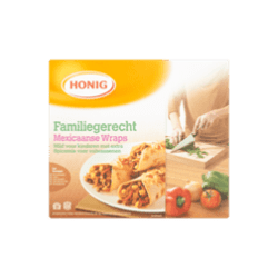 products honig familiegerecht mexicaanse wraps