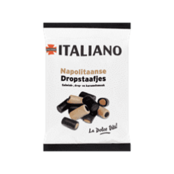 products italiano napolitaanse dropstaafjes
