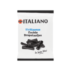 products italiano siciliaanse zachte dropstaafjes