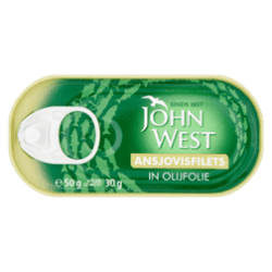 products john west ansjovisfilets in olijfolie