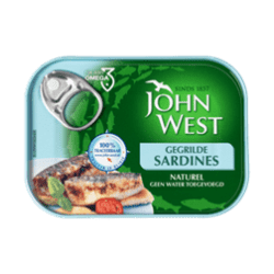 products john west gegrilde sardines