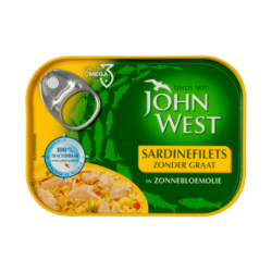 products john west sardinefilets in zonnebloemoli