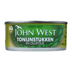 products john west tonijnstukken in olijfolie