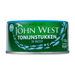 products john west tonijnstukken in water