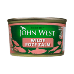 products john west wilde roze zalm 213g