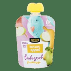 products jumbo biologisch fruithapje banaan appel 6 maanden