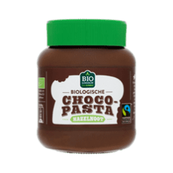 products jumbo biologische choco pasta hazelnoot