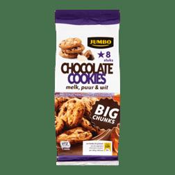 products jumbo chocolate cookies melk puur wit big chunks