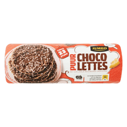 products jumbo chocolettes puur