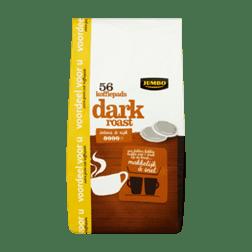 Jumbo Dark Roast 56 Koffiepads