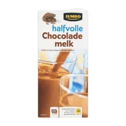 products jumbo halfvolle chocolade melk
