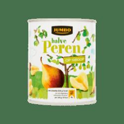 products jumbo halve peren op siroop