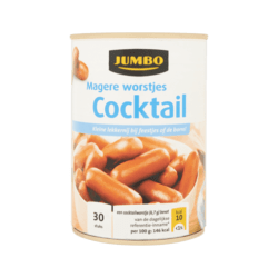 products jumbo magere worstjes cocktail