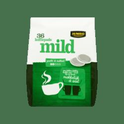 products jumbo mild 36 koffiepads