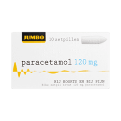 products jumbo paracetamol zetpillen 120 mg