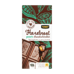 products jumbo puur chocoladetablet hazelnoot 200g