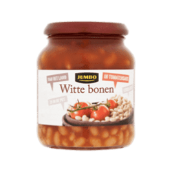 products jumbo witte bonen in tomatensaus