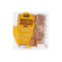products jumbo worstenbroodjes mini