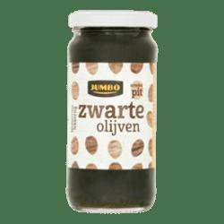 products jumbo zwarte olijven zonder pit