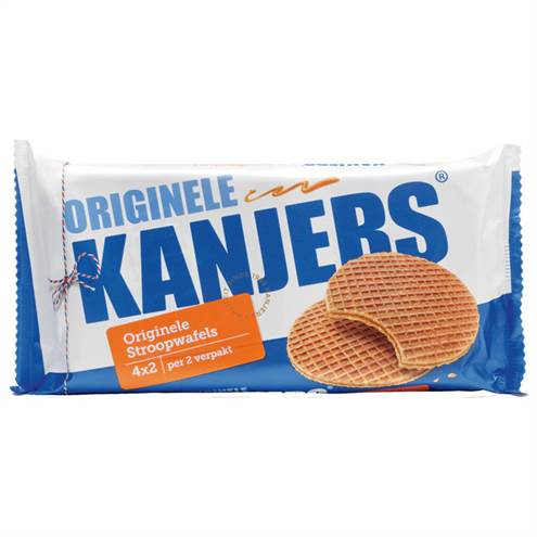 Kanjers Extra grote stroopwafels