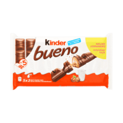 products kinder bueno milk and hazelnuts 5 pack