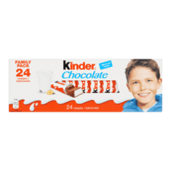products kinder chocolate 24 reepjes family pack