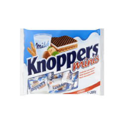products knoppers minis gevulde wafels