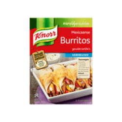products knorr wereldgerechten burritos