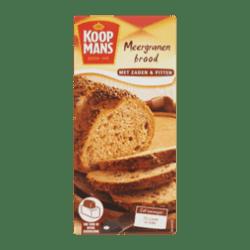 products koopmans mix voor meergranenbrood met zaden pitten