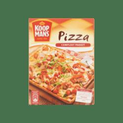 products koopmans mix voor pizza compleet pakket