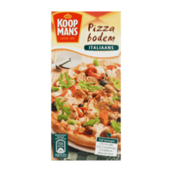 products koopmans mix voor pizzabodem italiaans
