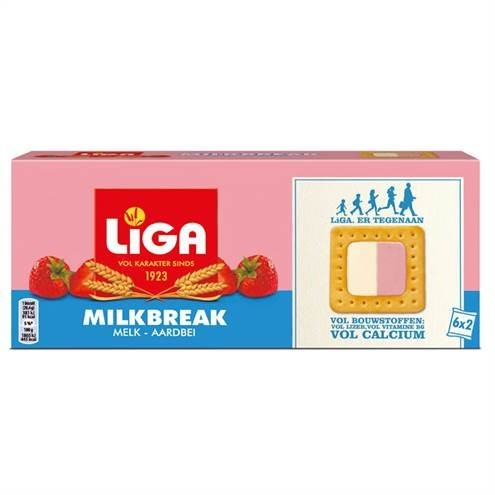 products liga milkbreak duo melk aardbei
