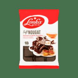 products lonka soft nougat dark chocolate peanuts