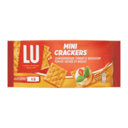products lu mini crackers zongedroogde tomaat basilicum