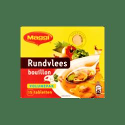 products maggi rundvlees bouillon volumepak 15 tabletten